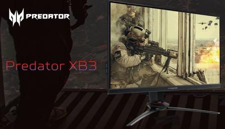 Acer amplía su gama de monitores gaming con dos nuevos Predator IPS de 24 y 27 pulgadas y refresco de 240 Hz