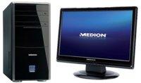 Medion PC 7591 y MD20080, sobremesa y monitor básicos y muy económicos