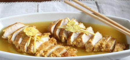 Receta de pollo al limón estilo chino (para celebrar su Año Nuevo)
