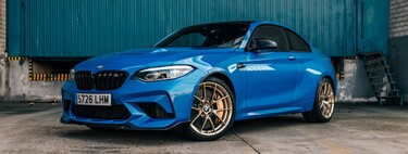 We tested the BMW M2 CS: an authentic car that demands and makes you smile in equal measure