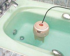 Limpiador para el agua del baño