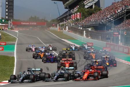 Salida Espana Formula 1 2019