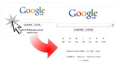 Subir la primera enmienda y bajar en Bolsa, efecto Google