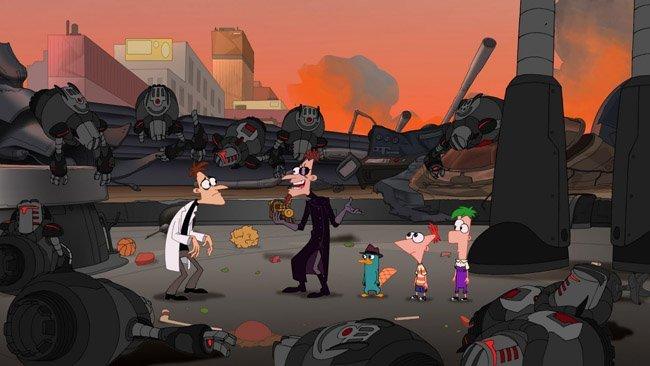 'Phineas y Ferb, la película: A través de la 2ª dimensión'