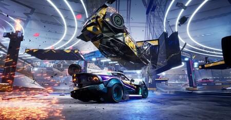 Destruction AllStars, el juego de batallas y destrucción de vehículos, saldrá de PS Plus en abril y pasará a costar 20 euros