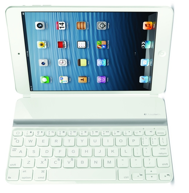 Logitech Ultrathin Mini en blanco