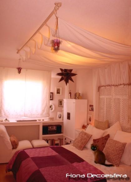 Diez manualidades decorativas para este verano - Doseles de cama ...