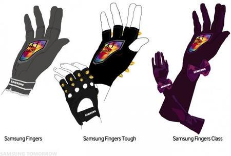 Samsung Fingers Diseños