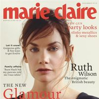 Marie Claire UK: Ruth Wilson