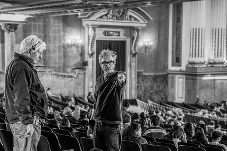 Alfonso Cuaron Dirigiendo Roma