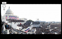 Gigapan: el secreto tras la famosa foto de la investidura de Obama