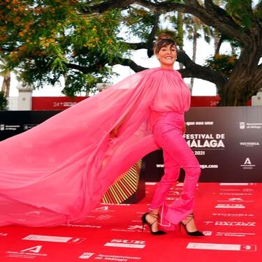Estos han sido todos los looks del tercer día del Festival de Málaga 2021 con Candela Peña como protagonista