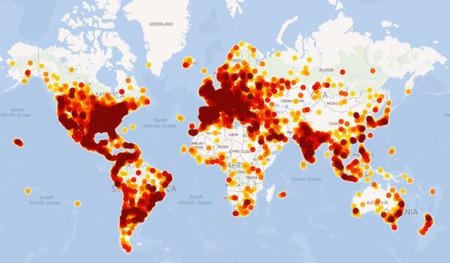 Usuarios de TouristEye en el mundo