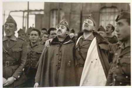 Franco Y Millan Astray Marruecos 1926 Fotobartolomeros