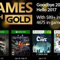 Los Juegos con Gold  entran con fuerza en 2017 con la segunda temporada de Killer Instinct o Rayman Origins