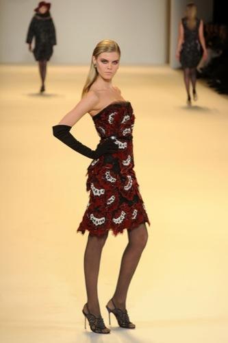 Carolina Herrera, Otoño-Invierno 2010/2011 en la Semana de la Moda de Nueva York XI