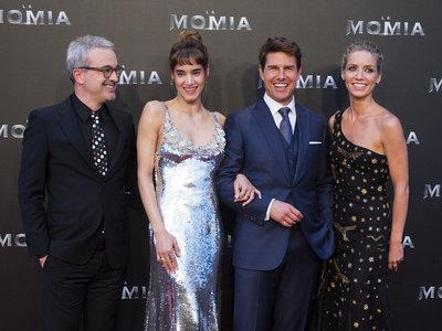 Sofia Boutella se convierte en la estrella de la noche en la que Tom Cruise presentó su nueva película en Madrid