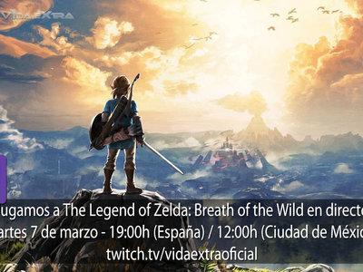 Streaming de The Legend of Zelda: Breath of the Wild a las 19:00h (las 12:00h en Ciudad de México) [finalizado]
