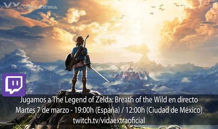 Streaming de The Legend of Zelda: Breath of the Wild a las 19:00h (las 12:00h en Ciudad de México) [finalizado]