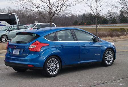 Ford Focus eléctrico toma de contacto en Dearborn (exterior) 03