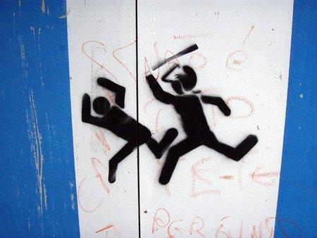 Del derecho, al vandalismo