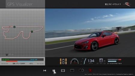 Telemetría en el Toyota GT86, de la realidad al Gran Turismo 6
