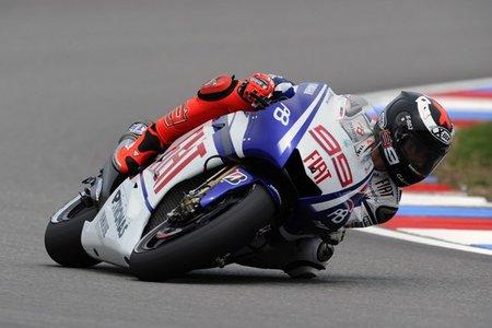 Jorge Lorenzo en Brno