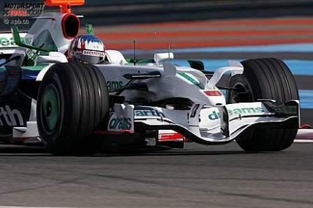 Probando novedades aerodinámicas para Mónaco
