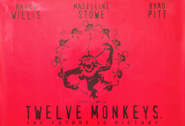 Doce Monos Poster