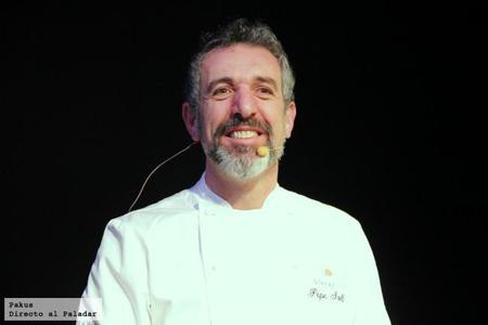 Tres recetas de Pepe Solla en la presentación de TimeOut Madrid en Platea