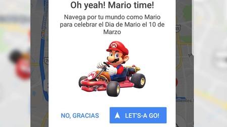 Mario Bros aparece en los mapas de Google en México, celebrando el día de Mario
