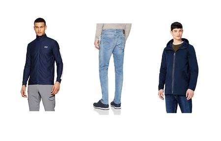 Chollos en tallas sueltas de pantalones vaqueros, chaquetas y abrigos de marcas como G-Star, find, Nike o Under Armour en Amazon