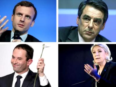 Estos son los principales candidatos a la presidencia francesa y sus programas electorales en economía