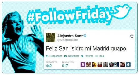 #FollowFriday de Poprosa: ¡A la pradera de San Isidro!