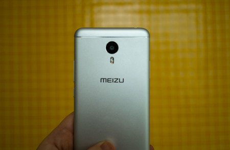 Meizu m3 Note: cámara trasera