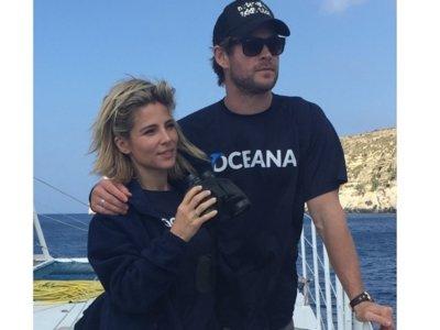 Elsa Pataky, Chris Hemsworth, lo guapos que son y el fondo marino