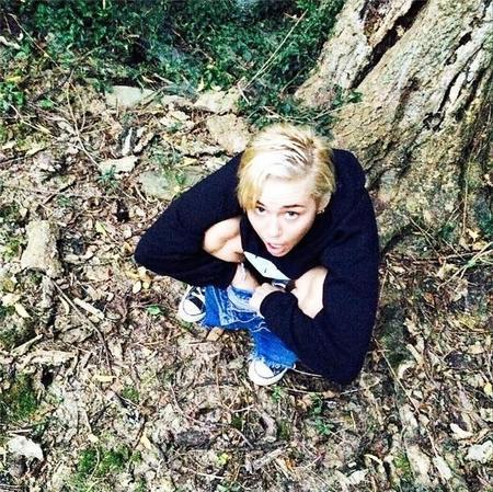 Cosas que es mejor no ver: el instagram de Miley Cyrus