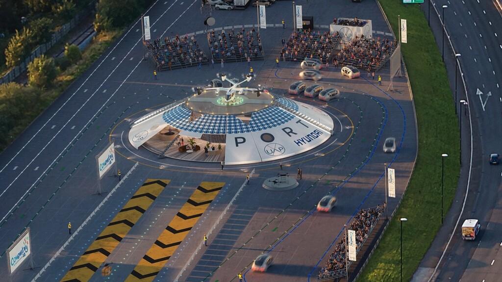 Air One: el primer aeropuerto para taxis voladores y drones de reparto quiere abrir a finales de este año en Reino Unido