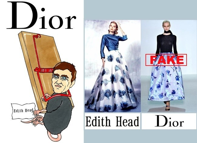 dior edith head
