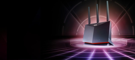 ASUS estrena router gaming: el RT-AX86U llega con WiFi 6, GeForce NOW y puerto Ethernet prioritario para juegos