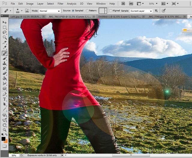 Manipulación photoshop