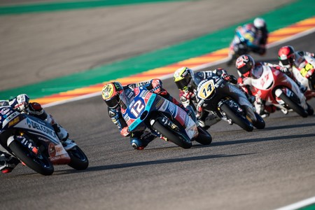 Marco Bezzecchi Moto3 Motogp Aragon 2018