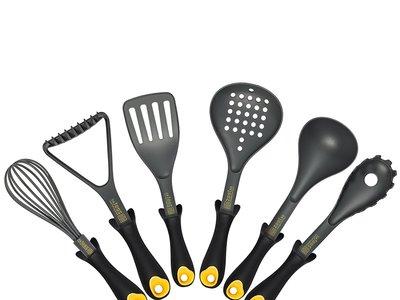 Oferta Flash en el set de siete utensilios de cocina  Zestkit: hasta medianoche su precio es de 24,74 euros