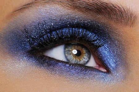 maquillaje glitter para ojos