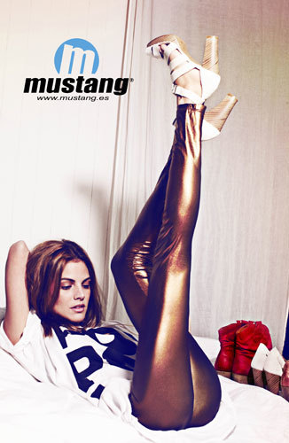 Amaia Salamanca imagen de Mustang
