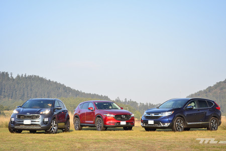 Honda Cr V Vs Kia Sportage Vs Mazda Cx 5 4