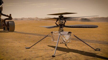 Ingenuity Perseverance Marte Nasa Helicoptero