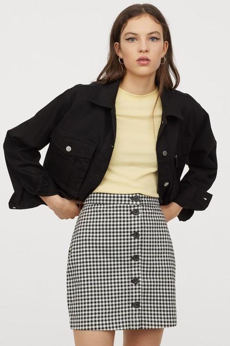 Minifaldas De Cuadros Vichy