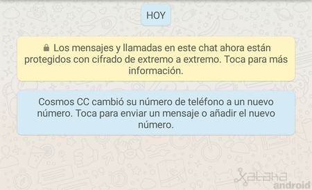 Cómo avisar a tus contactos de WhatsApp de tu nuevo número de teléfono