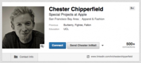 Chester Chipperfield, vicepresidente en Burberry, entra en Apple para ayudar a lanzar su Watch